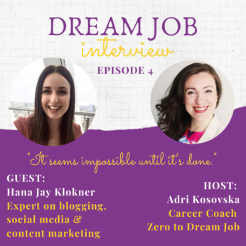 Dream job interview 4 with Hana